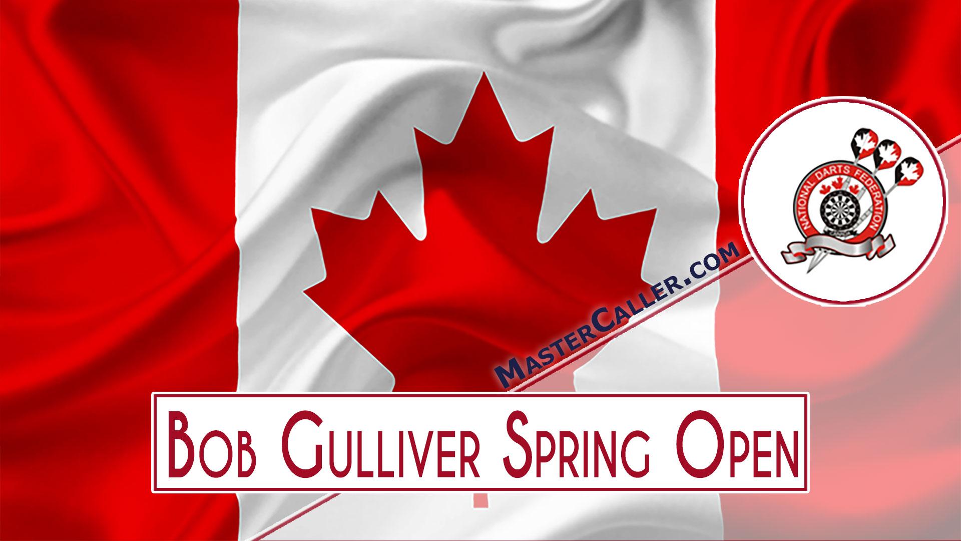 Bob Gulliver Spring Open Men - 2021 Logo