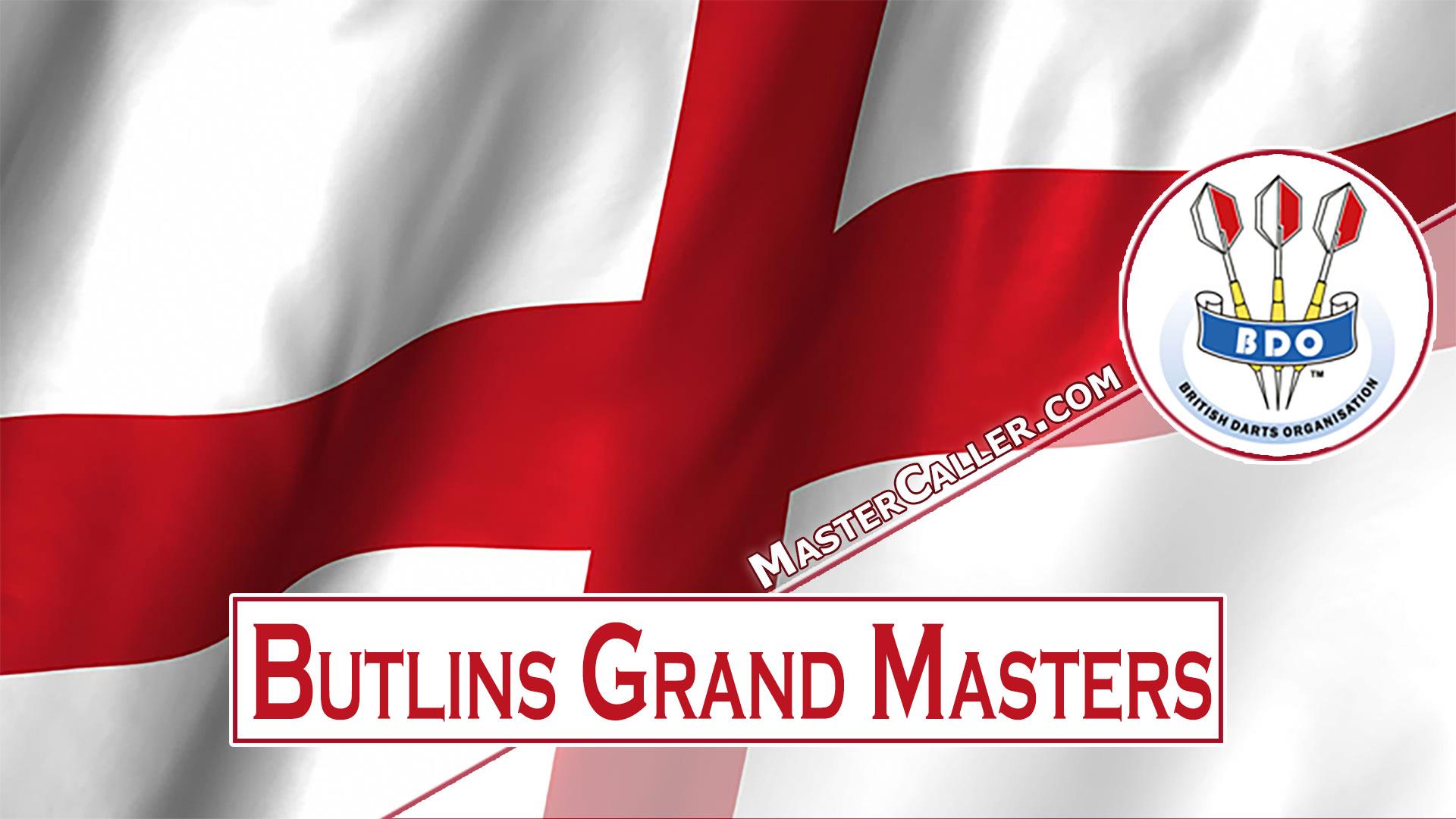 Butlins Grand Masters - 1980 Logo