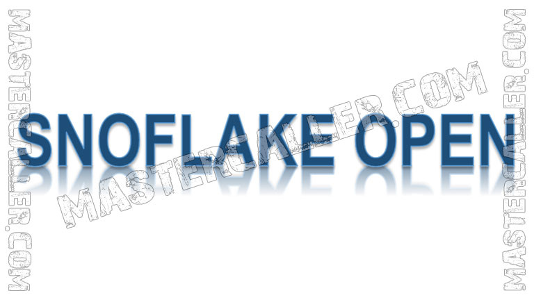 Snoflake Open Men - 2020 Logo