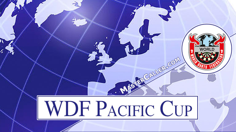 Trophy of WDF Pacific Cup Men Pairs - 1988