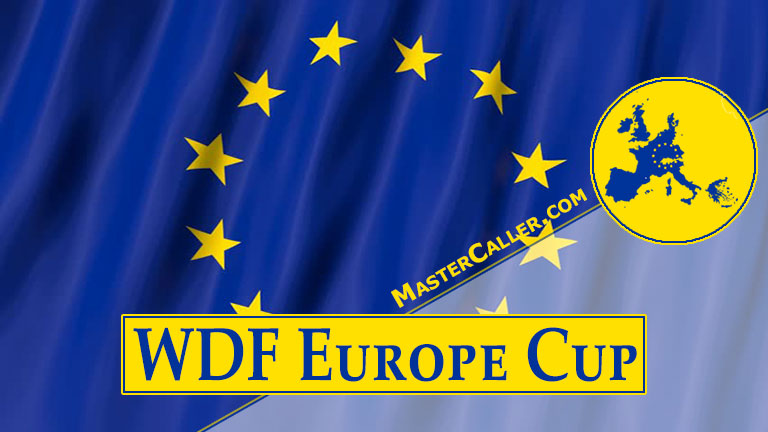 Trophy of WDF Europe Cup Men Overall - 1986