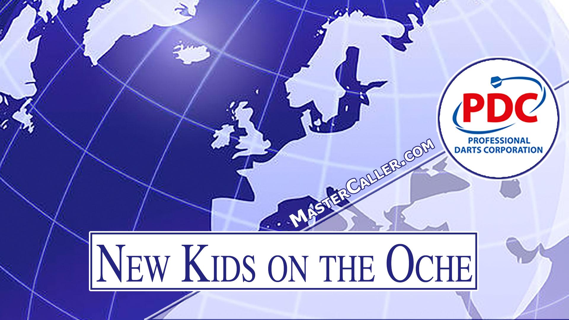 New Kids on the Oche - 2008 Logo