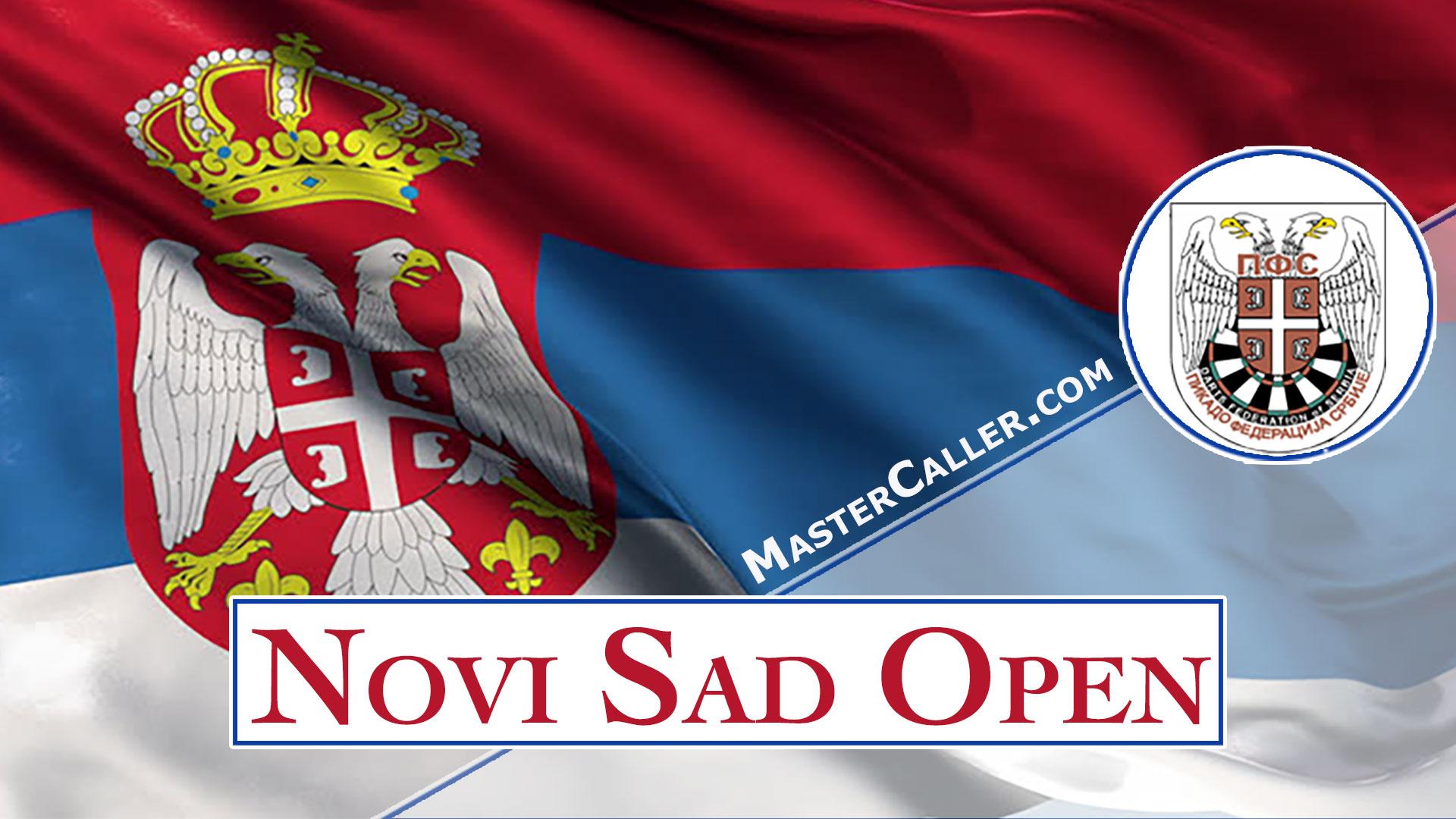 Novi Sad Open Men - 2021 Logo