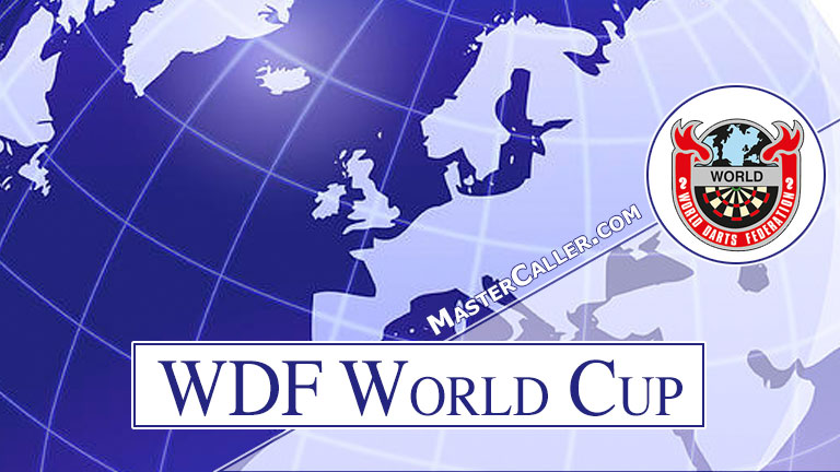 Trophy of WDF World Cup Women Pairs - 1987