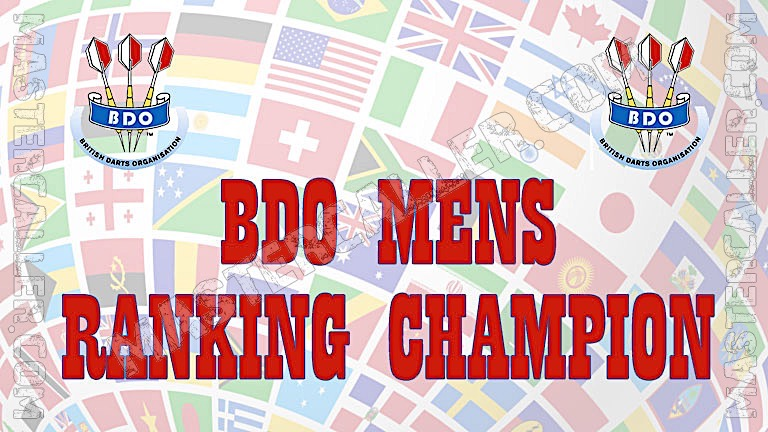 BDO Ranking Champion Men - 1982 Logo