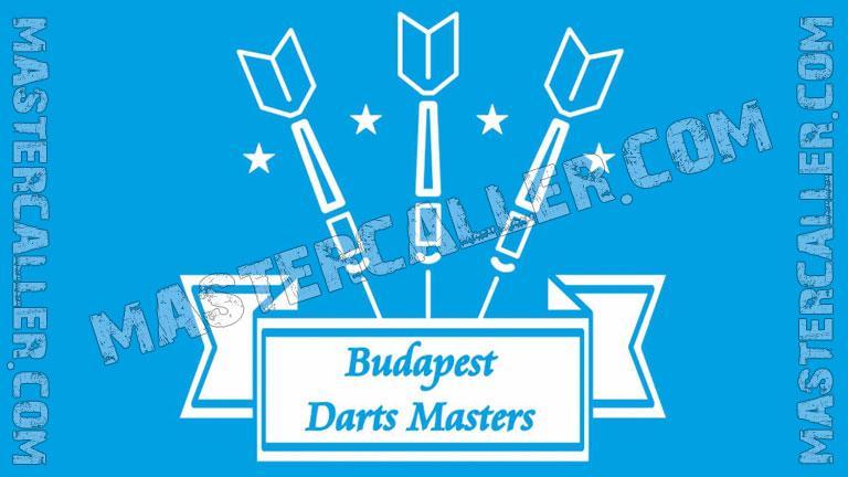 Budapest Masters Men - 2021 Logo