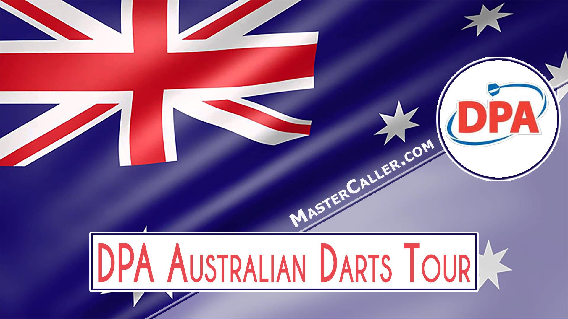PDC Australian Tour (DPA) - 2009 DPA 01 Australian Singles Logo