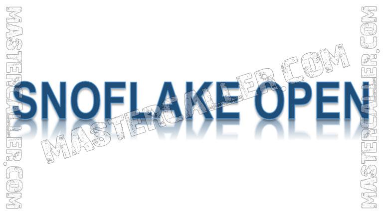 Snoflake Open Ladies - 2020 Logo