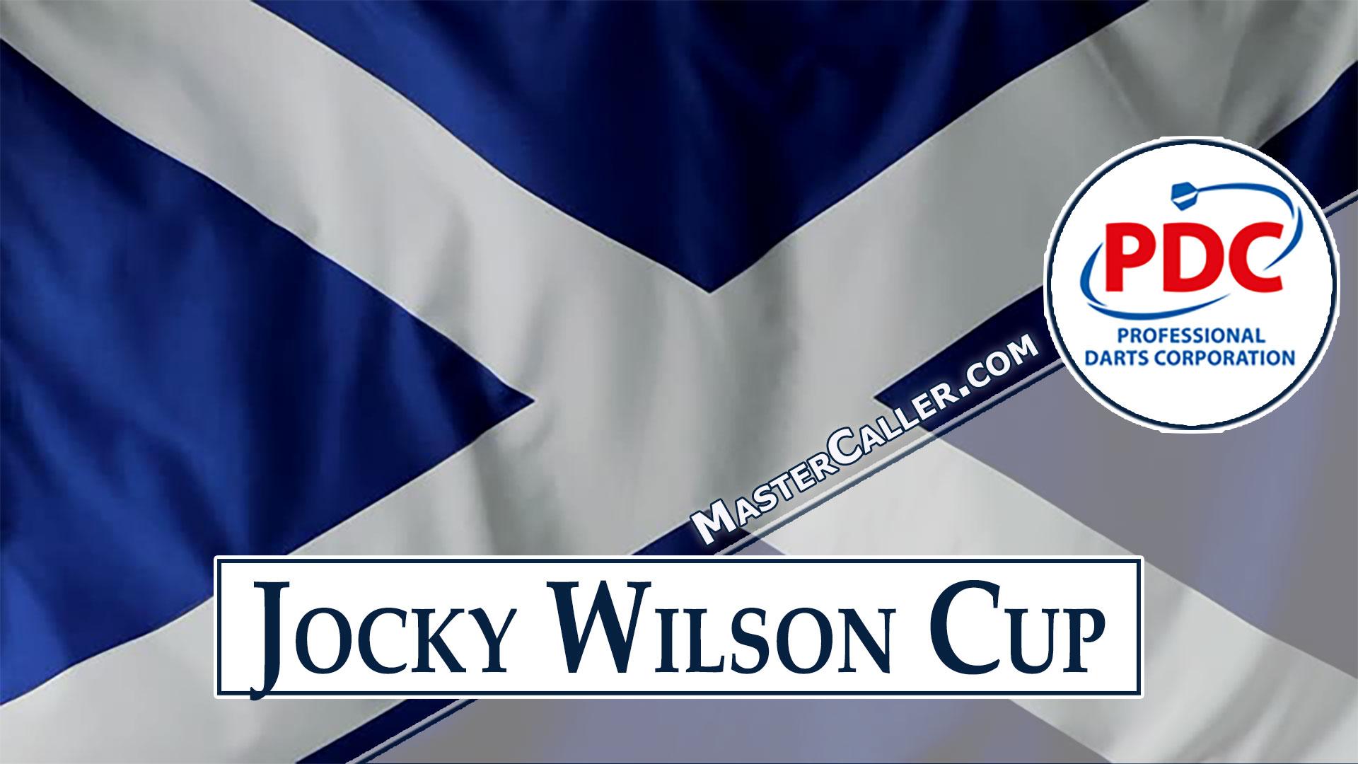 Jocky Wilson Cup - 2009 Logo