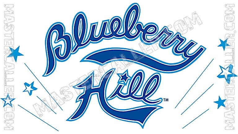 BlueBerry Hill Open Men - 1989 Logo