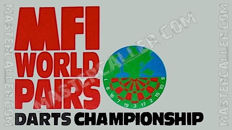 MFI World Pairs - 1986 Logo