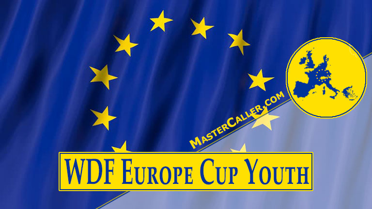 Beker van WDF Europe Cup Youth Boys Pairs - 2021