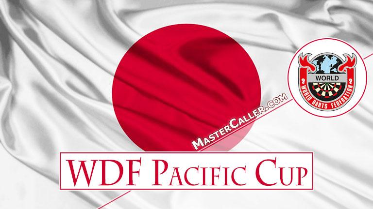 WDF Pacific Cup Men Singles - 1988 Logo