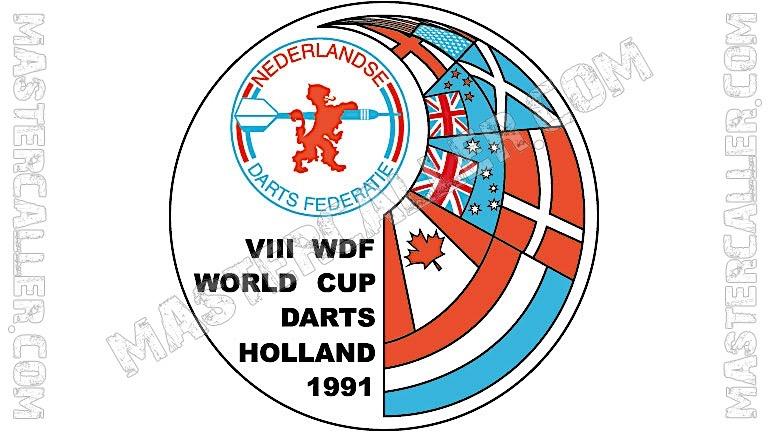 WDF World Cup Men Singles - 1991 Logo