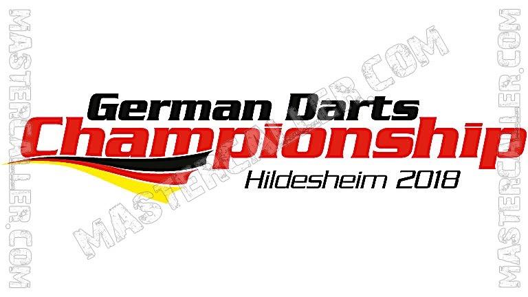 German Darts Championship - 2018 Logo