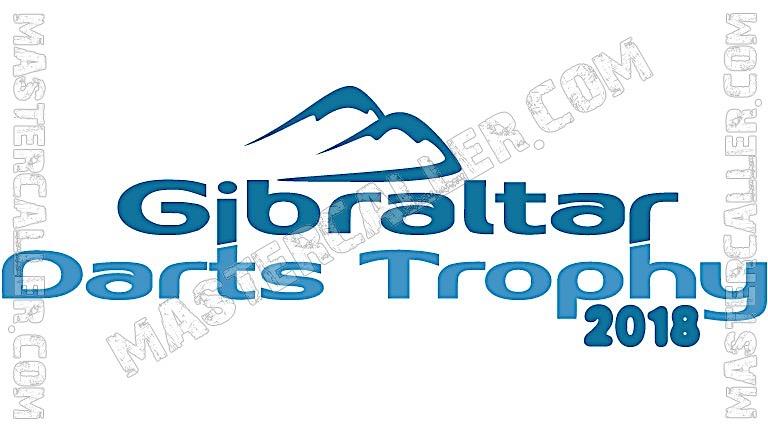 Gibraltar Darts Trophy - 2018 Logo