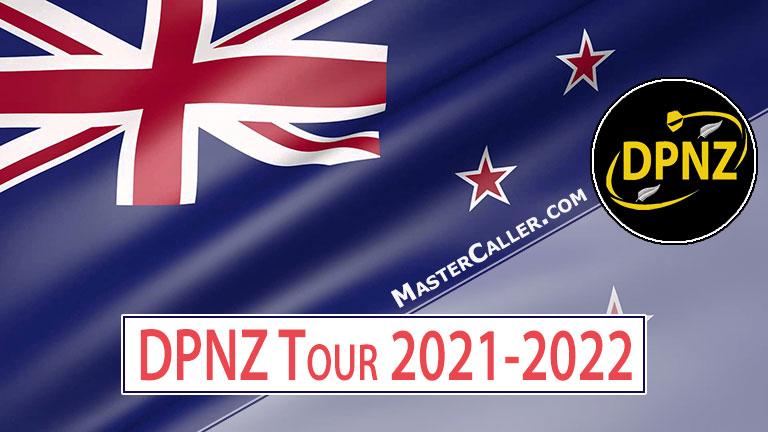 PDC New Zealand Tour (DPNZ) - 2021 DPNZ 01 Upper Hutt Logo