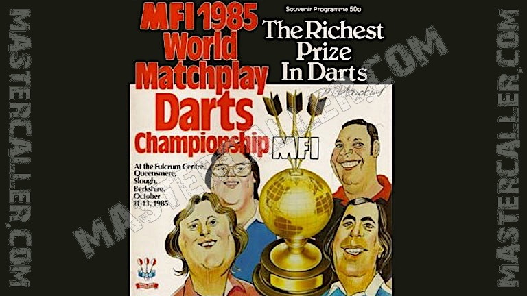 MFI World Matchplay - 1985 Logo