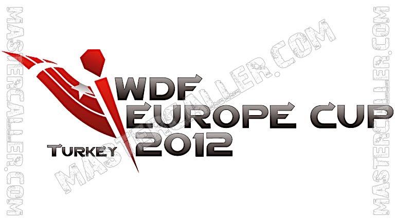 WDF Europe Cup Men Teams - 2012 Logo