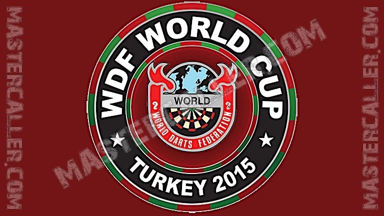 WDF World Cup Men Teams - 2015 Logo