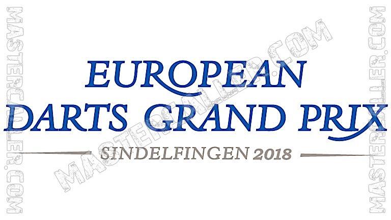 European Darts Grand Prix Qualifiers - 2018 N&B Logo