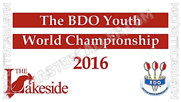 BDO World Championship Youth - 2016 Logo