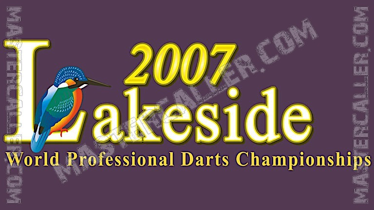 BDO World Championship Men - 2007 Logo
