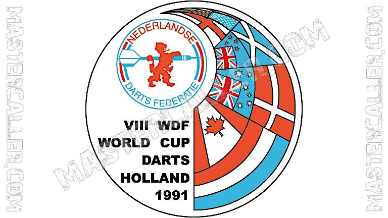 WDF World Cup Men Teams - 1991 Logo