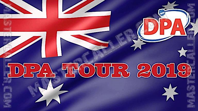 PDC Australian Tour (DPA) - 2019 DPA 10 Davenport Logo