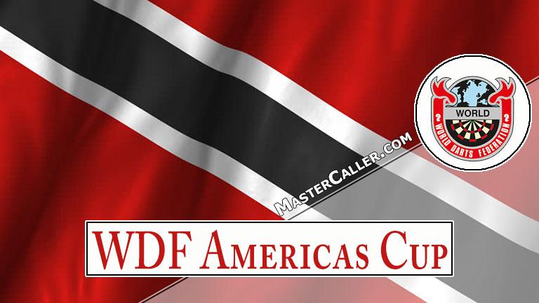 WDF Americas Cup Youth Boys Singles - 2018 Logo