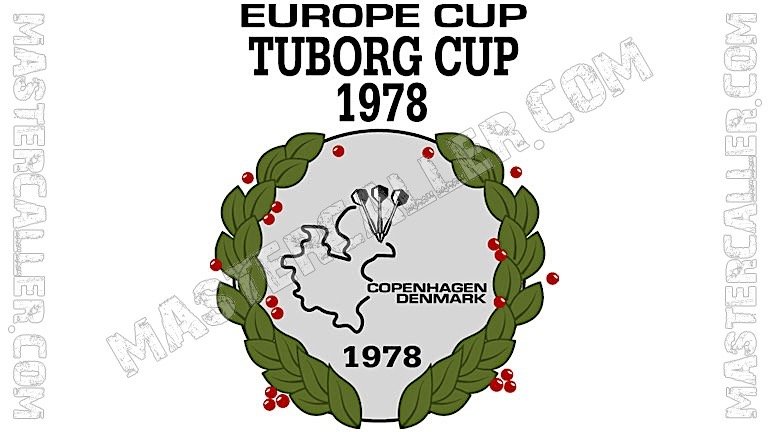 WDF Europe Cup Men Teams - 1978 Logo
