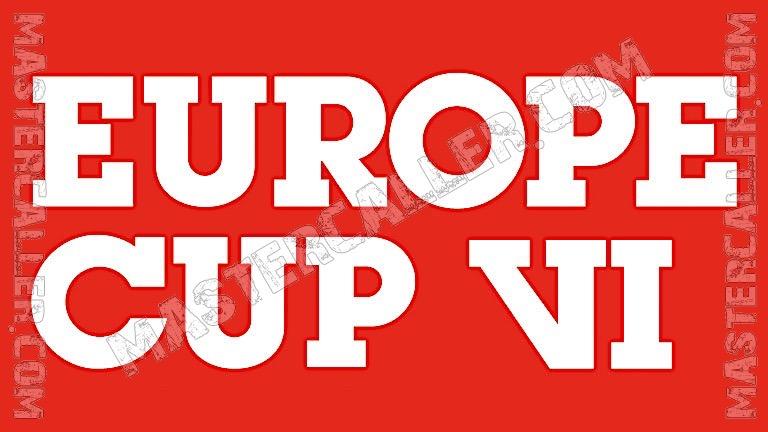 WDF Europe Cup Men Singles - 1988 Logo