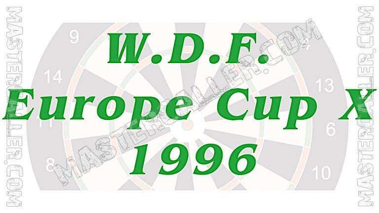 WDF Europe Cup Men Pairs - 1996 Logo
