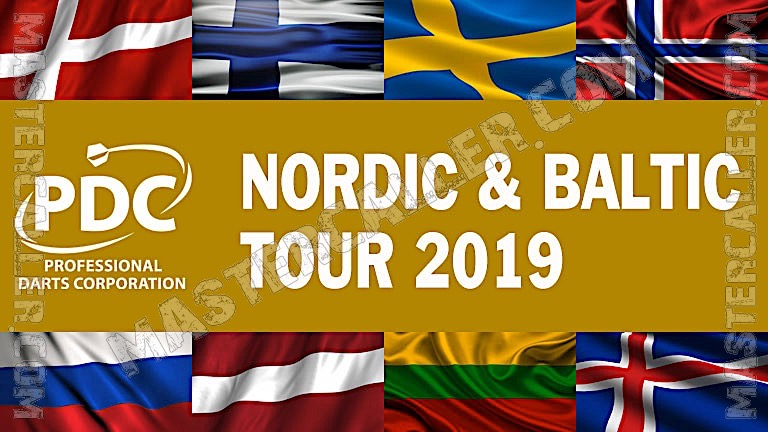 PDC Nordic & Baltic Tour - 2019 NB 10 Riga Logo