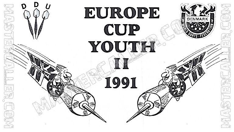 WDF Europe Cup Youth Boys Teams - 1991 Logo