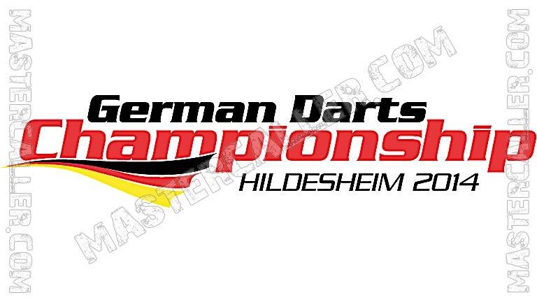German Darts Championship - 2014 Logo