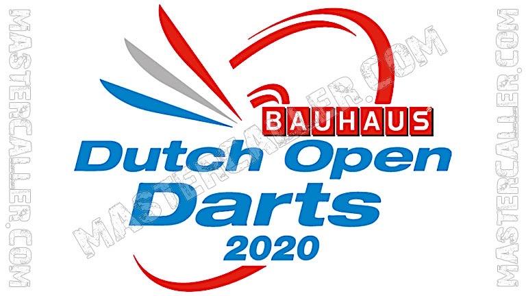 Dutch Open Paradarts - 2020 Logo