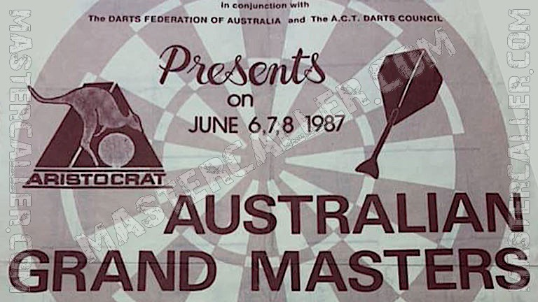 Australian Grand Masters Men - 1987 Logo