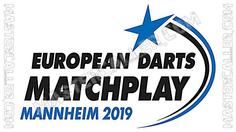 European Darts Matchplay Qualifiers - 2019 N&B Logo