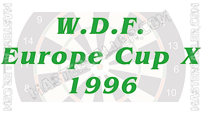 WDF Europe Cup Men Overall - 1996 Logo