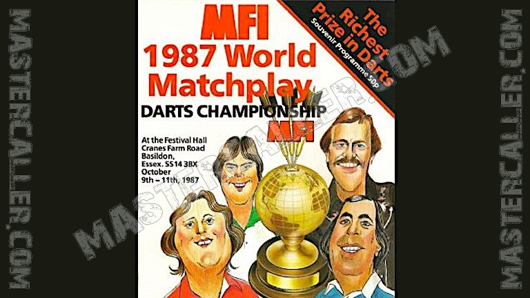 MFI World Matchplay - 1987 Logo