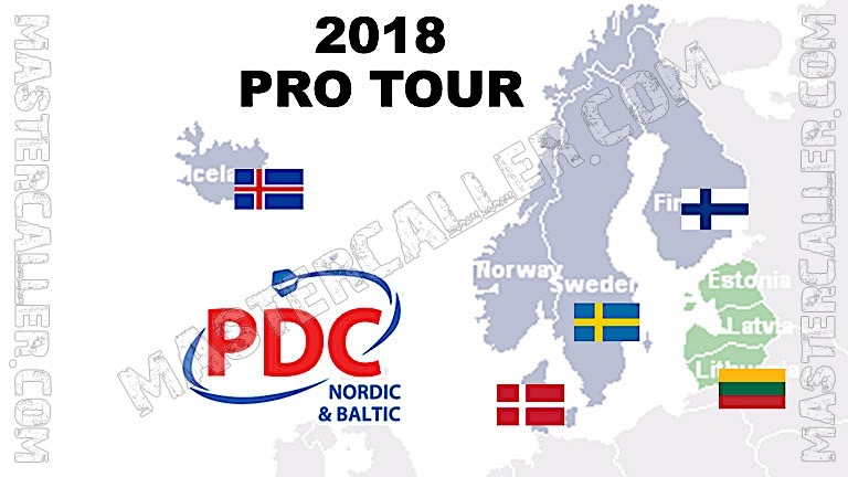 PDC Nordic & Baltic Tour - 2018 NB 10 Reykjavik Logo