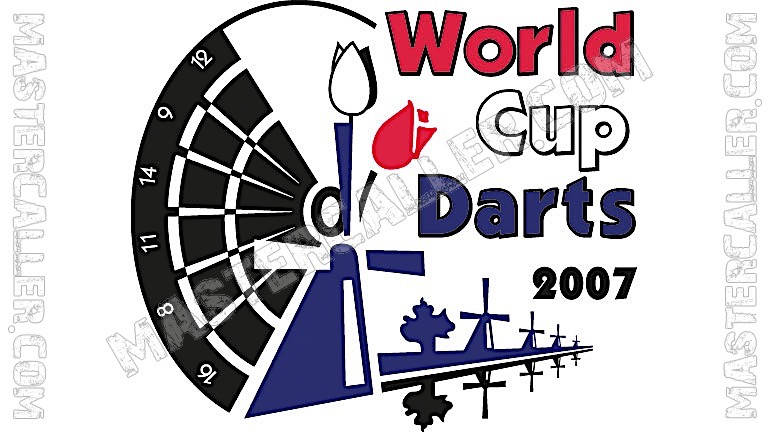 WDF World Cup Men Singles - 2007 Logo
