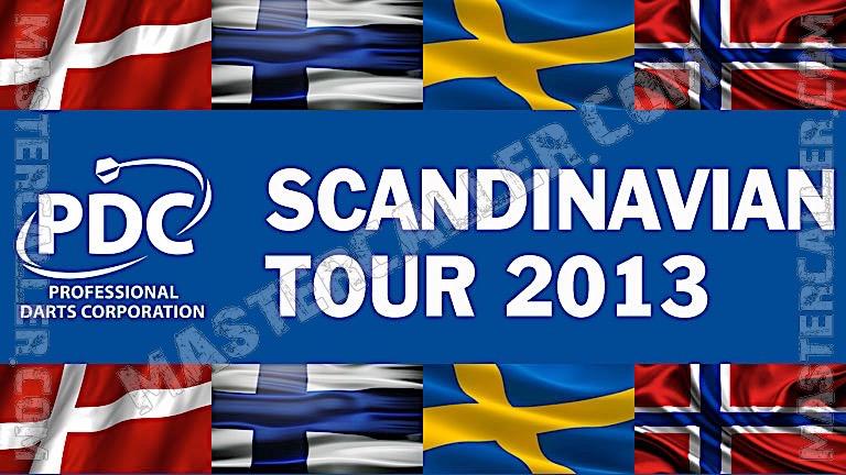 PDC Nordic & Baltic Tour - 2013 ST 01 Vaaksy Logo