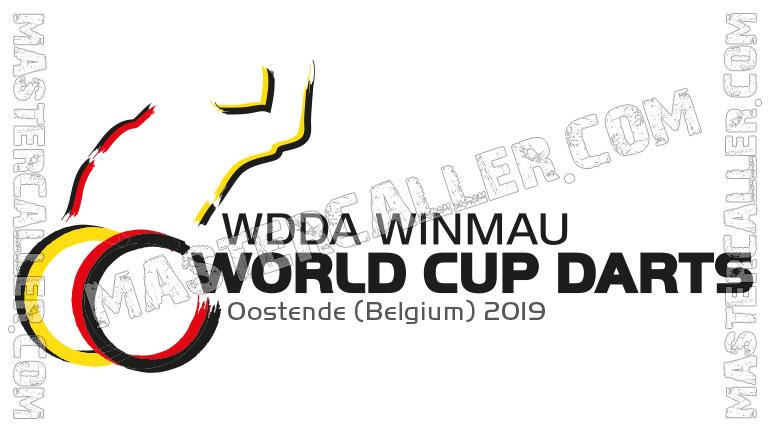 WDF WDDA World Cup Team Event - 2019 Logo