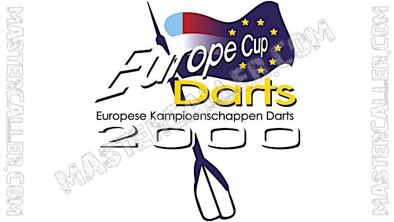 WDF Europe Cup Men Pairs - 2000 Logo