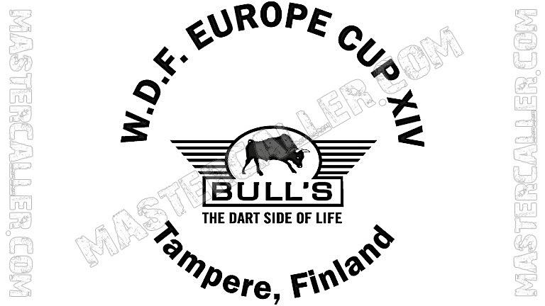 WDF Europe Cup Men Singles - 2004 Logo