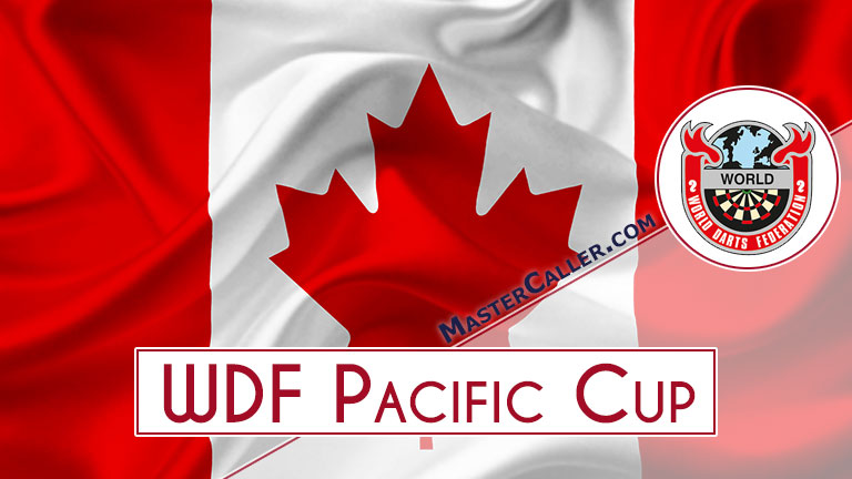 WDF Pacific Cup Mixed Pairs - 1982 Logo