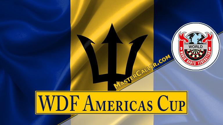 WDF Americas Cup Youth Boys Singles - 2016 Logo