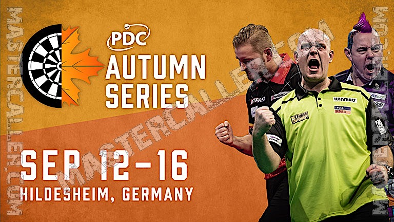 Players Championships - 2020 PC 18 Autumn Series Logo